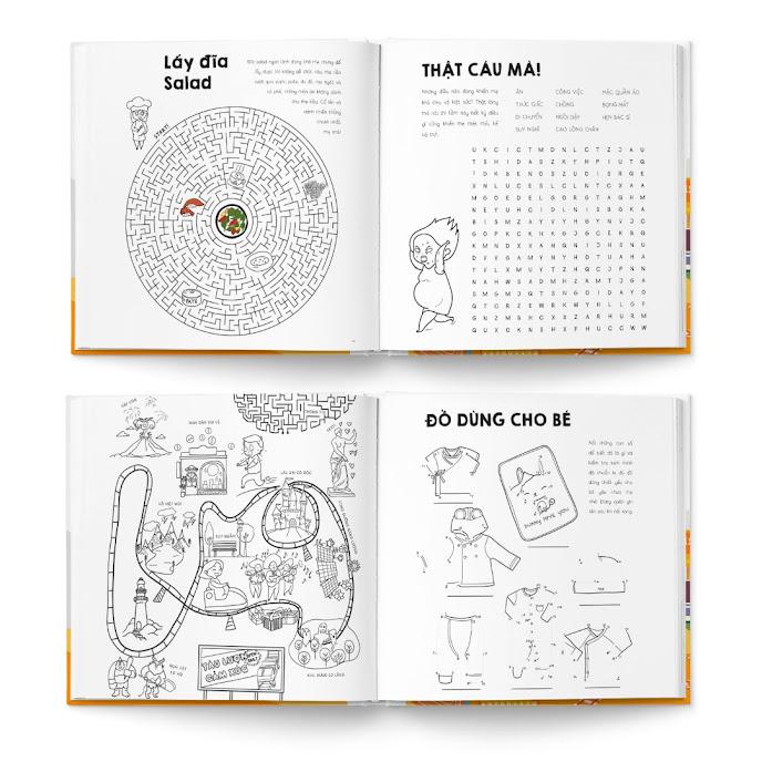 [A116] Sách tô màu cung cấp kiến thức cho Bà Bầu
