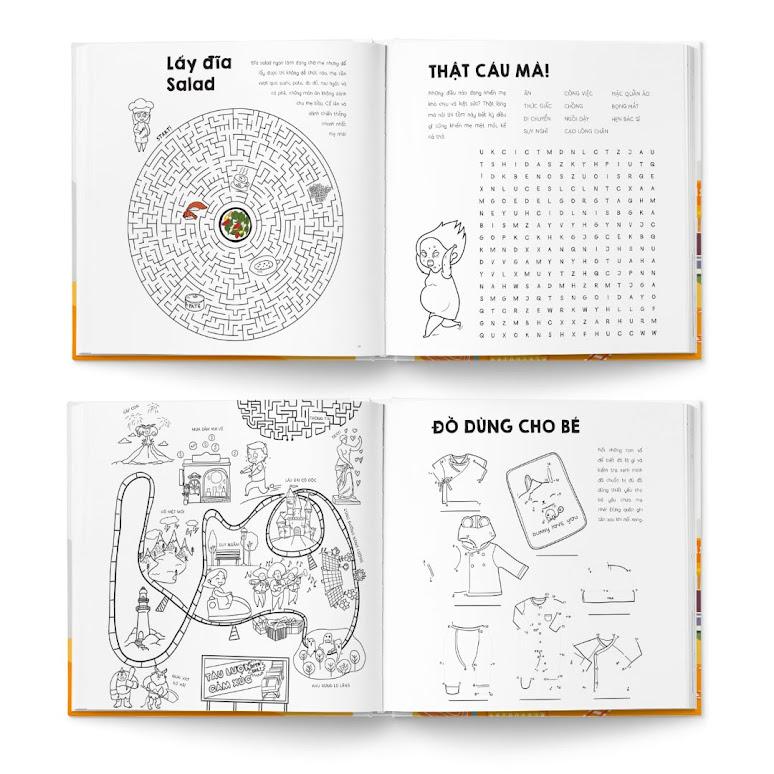 [A116] Sách tô màu cho Bà Bầu nên mua nhất