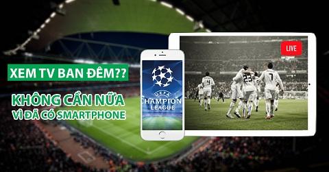 Cách xem bóng đá trực tuyến trên điện thoại