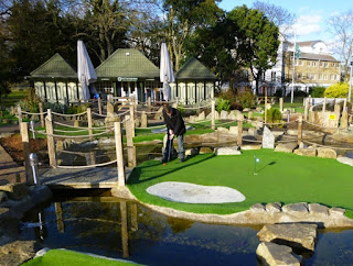 Putt in the Park at Wandsworth Park in London