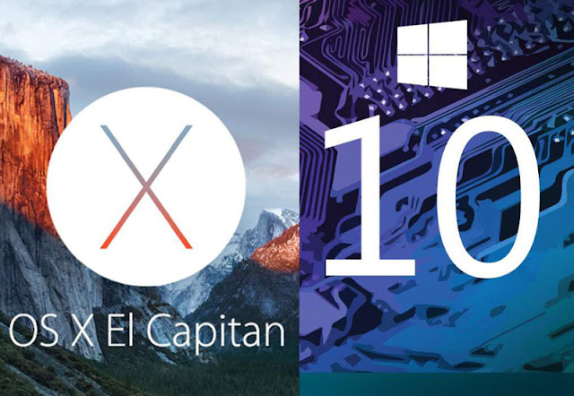 OS X El Capitan against Windows 10 - the fight is declared open