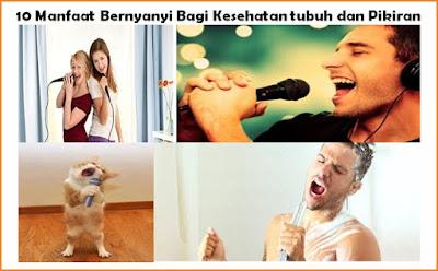 10 Manfaat Bernyanyi Bagi Kesehatan Tubuh dan Pikiran