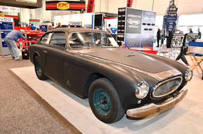 Classic car on display at SEMA 2018.
