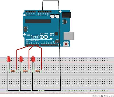Membuat Program Lampu LED Berjalan dengan Arduino UNO