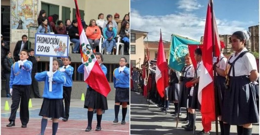 MINEDU eliminó comunicado que envió a colegios que no participan en desfile por fiestas patrias