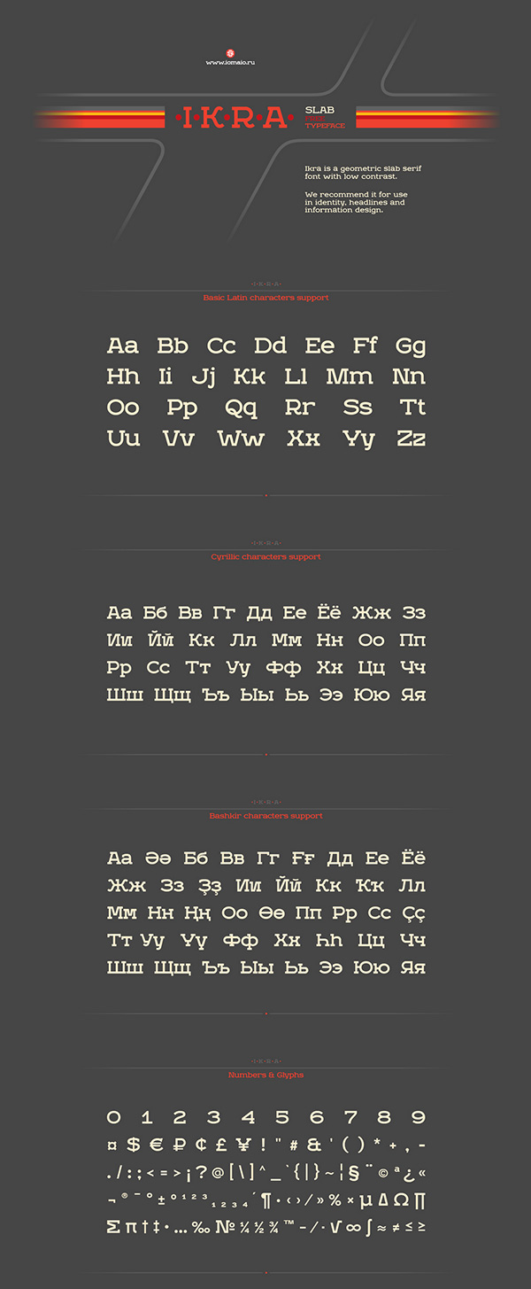 Download Gratis Font Terbaru September 2015 - Ikra Slab Free Typeface