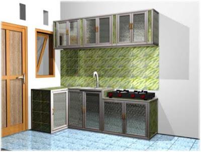 gambar desain dapur sederhana dan murah
