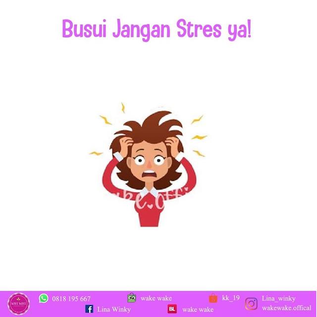 Para Ibu Menyusui Jangan Stress Ya! Ingat ASI Bisa Seret
