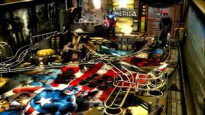 Marvel Pinball Captain América