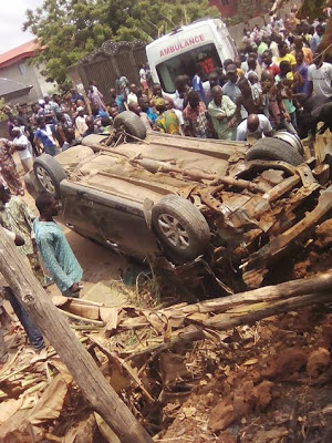 Photos: Pregnant Woman Dies In Fatal Accident At Obadore4