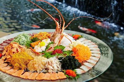 Source: Pan Pacific Singapore. Premium yu sheng at Keyaki.
