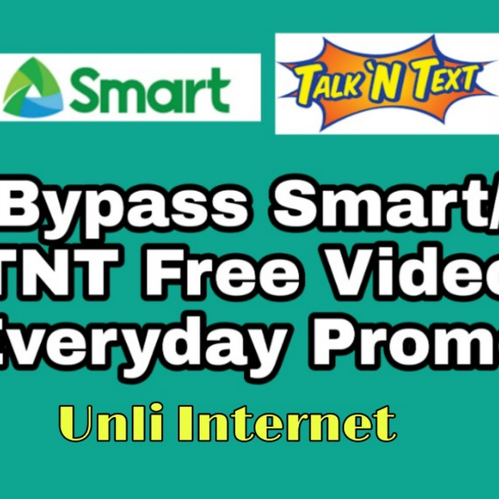 Bypass Smart/TNT Free Video Everyday For Download Surf Unli Net