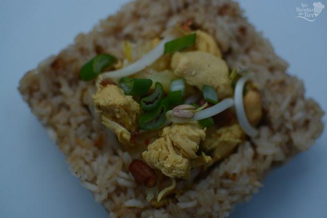 Arroz thai con pollo tererecetas 01
