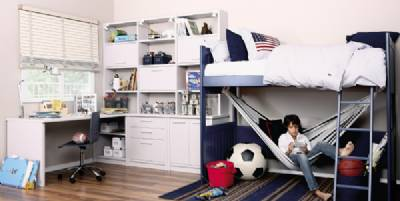 Dormitorios juveniles para adolescentes de 12 a os 13 a os - Dormitorios dobles para ninos ...
