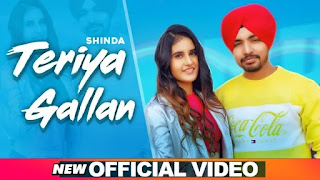 TERIYAN GALLAN LYRICS SHINDA | JASSI X