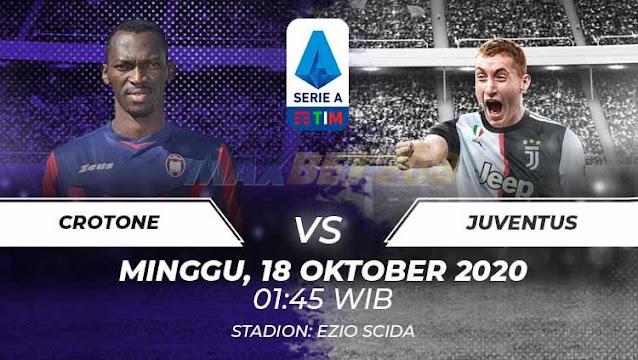 Prediksi Crotone Vs Juventus, Minggu 18 Oktober 2020 Pukul 01.45 WIB @ RCTI