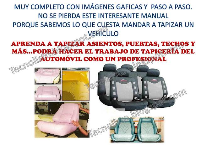 """""""Curso Manual Tapicería Automotriz-2"""""""