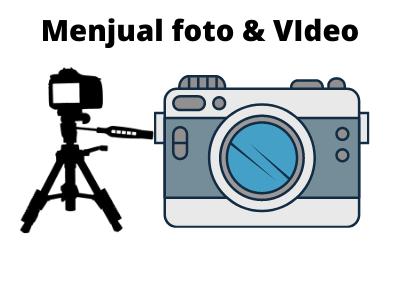 Menjual foto dan video online