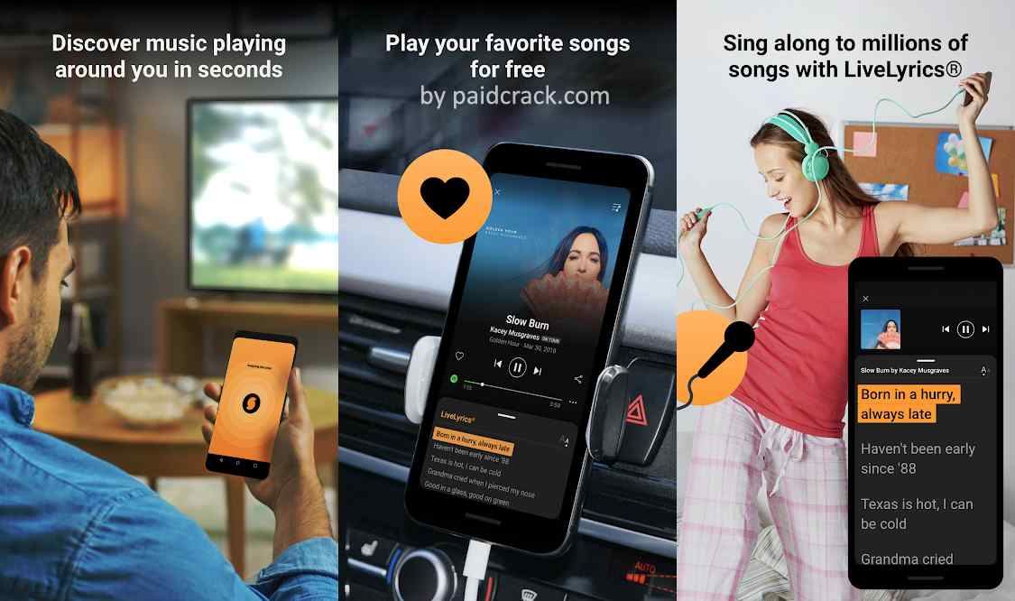 SoundHound - Music Discovery Mod Apk 9.5.2.1 [Paid]