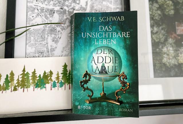 [Presseexemplar] Das unsichtbare Leben der Addie LaRue - V. E. Schwab