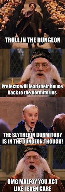 Malfoy and Dumbledore dungeons