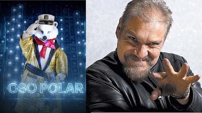 Joaquín Cosío es Oso Polar