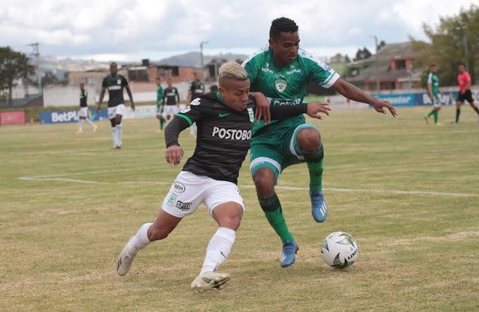 Nuevo revés: Atlético Nacional no pudo ante La Equidad y perdió en Zipaquirá