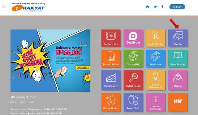 Cara Buat Bayaran Semula Yayasan Bank Rakyat (YBR) Secara Online Terbaru