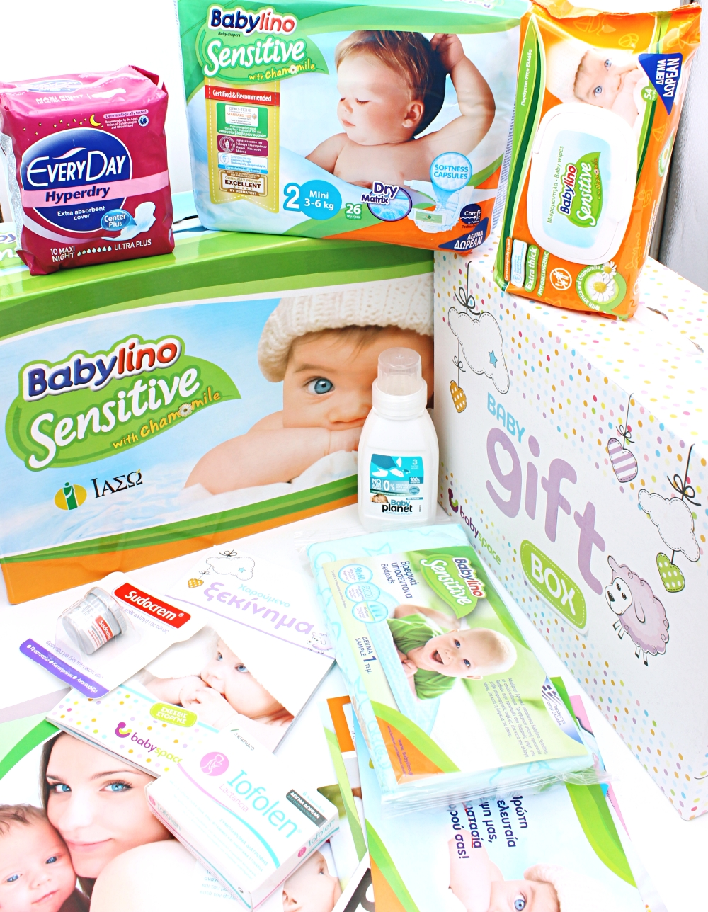 baby products testing, Babylino sensitive, Baby space GR, best diapers and baby stuff