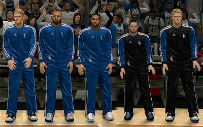 NBA 2K13 Minnesota Timberwolves Warmup Uniforms Mod