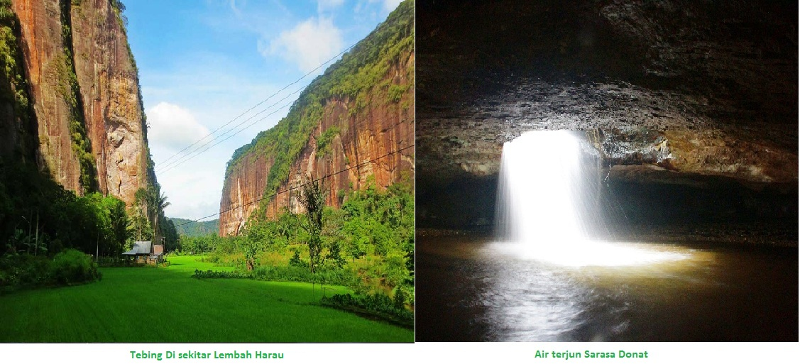 83 Gambar Air Terjun Lembah Harau