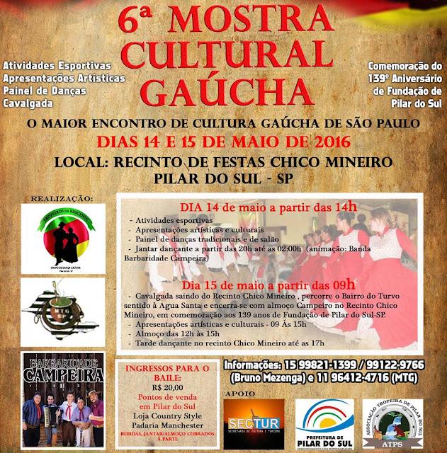 O baile no sábado à noite fica por conta do Grupo Barbaridade Campeira 75cd7c0275348