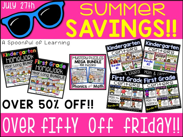 7 Days of Summer Savings 2018 | Over 50% off Friday