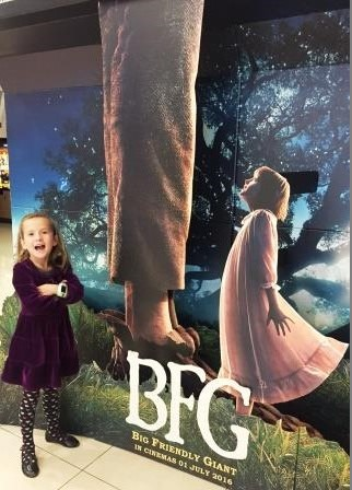 The Big Friendly Giant, The BFG Movie, premiere, Roald Dahl, Disney