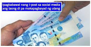 Pagbabayad ng P30,000 multa sa pamamahiya at pananakot sa mga may Utang  isinabatas na - Pinay Ako Blog