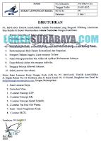 Loker Surabaya Terbaru di PT. Bintang Timur Samudera Juli 2019