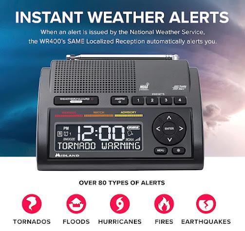 Cheap Severe Weather Emergency Alert Radio