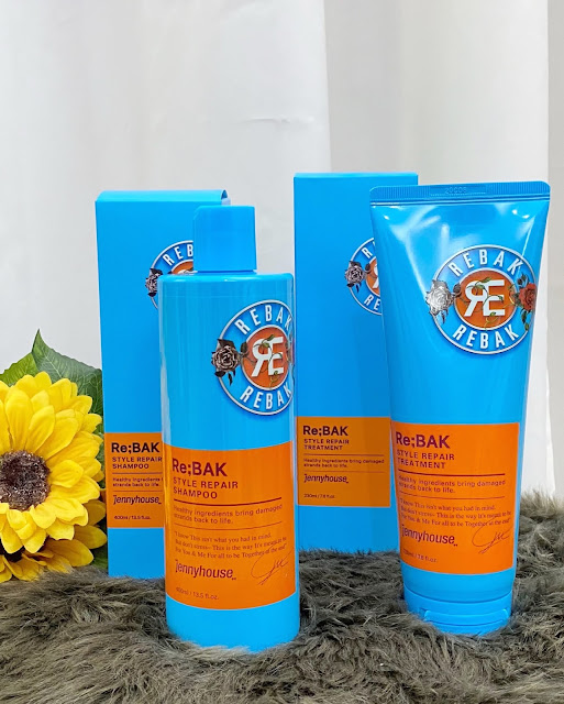 JennyHouse Re;Bak Style Repair Shampoo and Treatment Review
