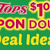 Tops Dollar Doubler FREEbies