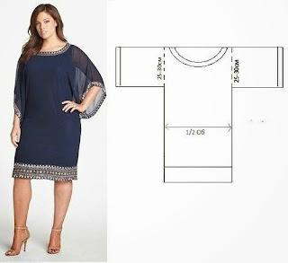 Kolay Sade Model  Elbise Dikimi, Resimli Açıklamalı 1