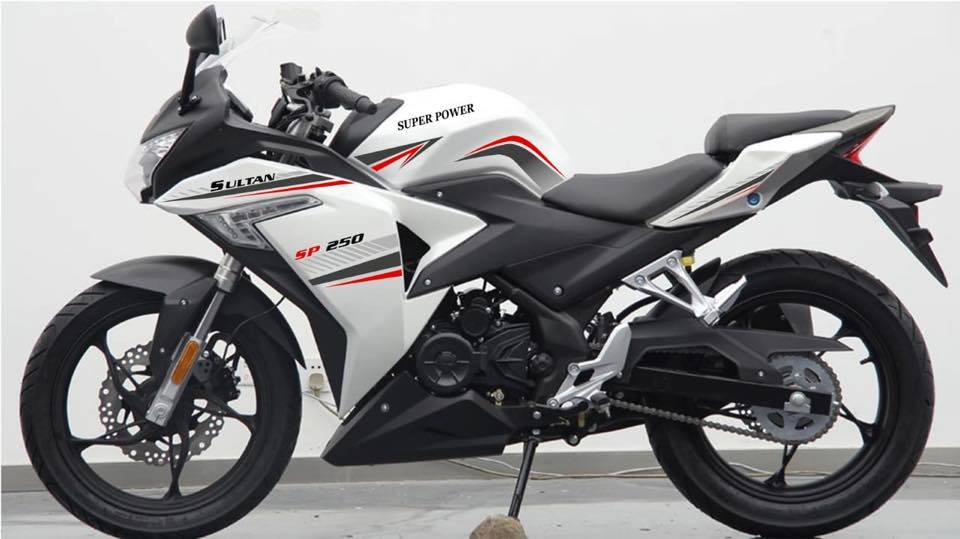 Sultan 250cc Sports Bike Lanunched  In Pakistan By Super Power