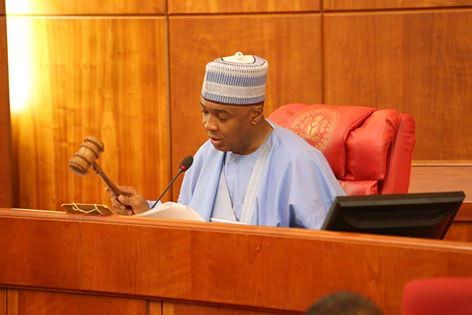 Never again will senate cover up Corruption- Saraki