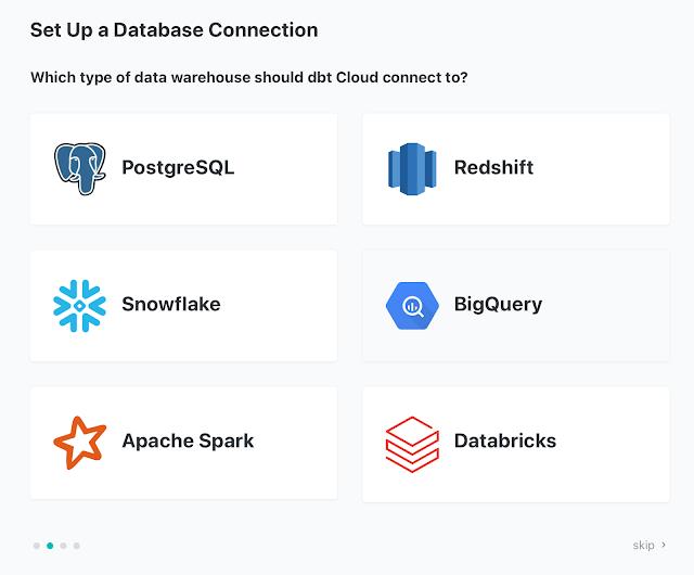dbt Set Up Database
