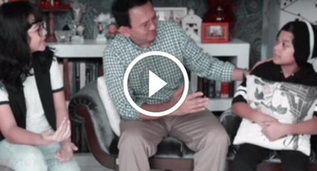 Video Ahok Ikut Mannequin Challenge Bersama Luna Maya dan Uya Kuya
