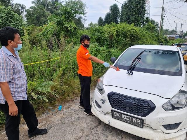 Tangani Kasus Mara Salem Harahap, Kapolres Simalungun Turun Langsung ke TKP