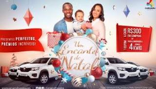 Promoção Caruaru Shopping Natal 2019 - 4 Carros 0KM Renault Kwid