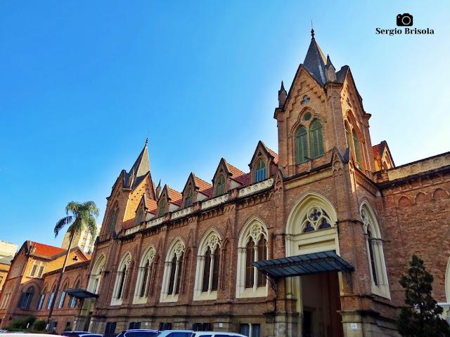 Vista da fachada frontal da Santa Casa de Misericórdia de São Paulo - Vila Buarque - São Paulo