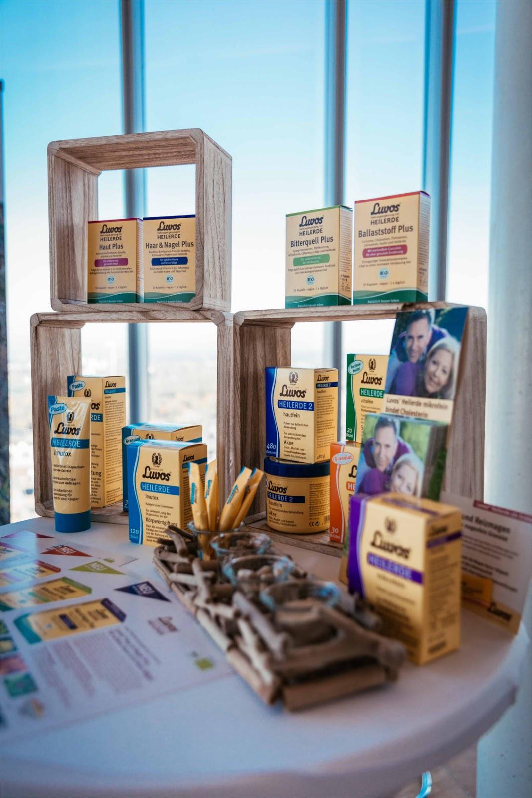 Beautypress Bloggerevent Oktober 2017 - Luvos Heilerde Nahrungsergänzung