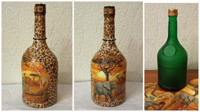 botellas-decoradas-decoupage
