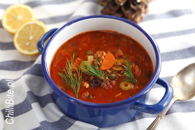 zupa solianka ukraińska